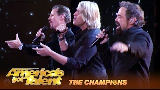 The Texas Tenors: Amazing Vocal Trio Deliver EPIC Perfomance! | America's Got Talent: Champions
