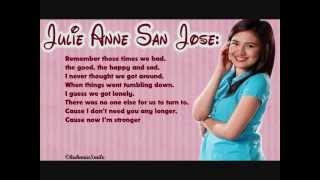 Enough - Julie Anne San Jose | Lyrics