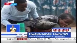 Mwanahabari Victor Muyakane amuokoa kijana aishiye na ulemavu alipovamiwa na nyuki