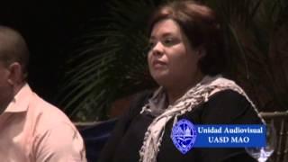 preview picture of video 'UASD-Centro Mao Inaugura Unidad de Recursos Audiovisuales'