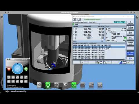 CHECKitB4 - virtual machining DMU-60