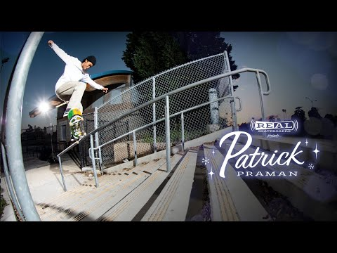 preview image for REAL Skateboards presents Patrick Praman