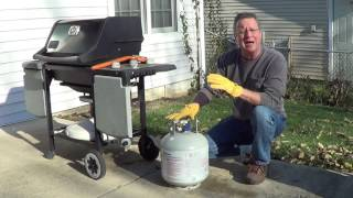 Where to Store a Grill Propane Tank for Winter