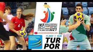 IKF U21 WKC 2018 TUR-POR