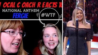 Vocal Coach Reacts to Fergie 'National Anthem' #whatwentwrong