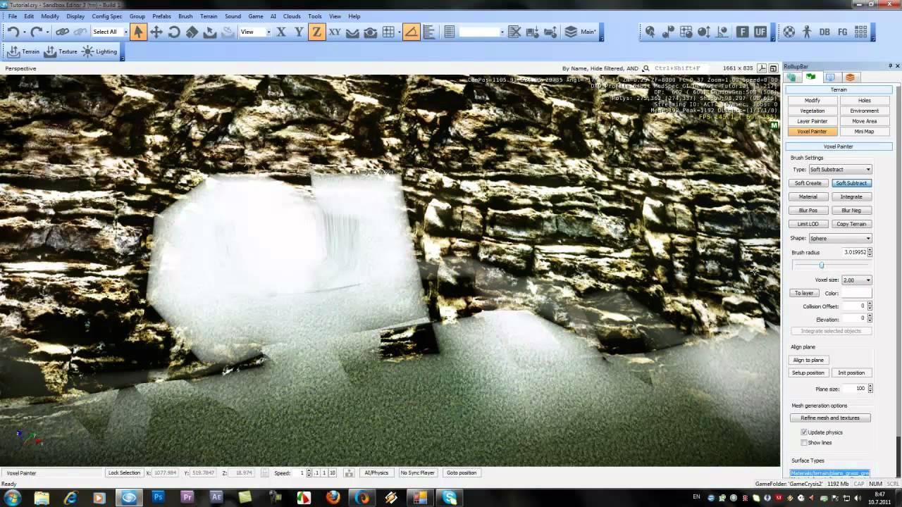 CryEngine3 Tutorial 17-Create a Cave