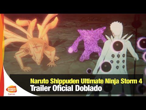 Trailer de Naruto Shippuden: Ultimate Ninja Storm 4