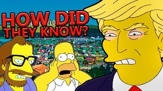 How 'The Simpsons' Keeps Predicting Things