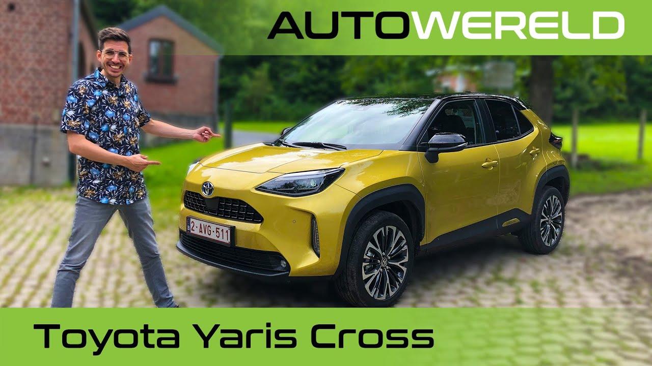 De hybride Toyota Yaris Cross (2022) review met Andreas Pol