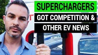 Tesla Superchargers Got Competition | Weekly EV News Recap