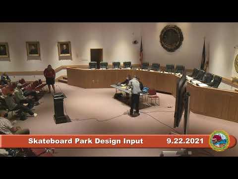 9.22.2021 Skateboard Park Design Public Input