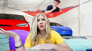 EXTREME Hide And Seek In The Worlds Biggest Blanket Fort!