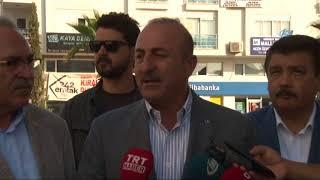 """Çavuşoğlu'ndan İdlib açıklaması: """" 2 milyona yakın insan, Türkiye sınırına gelebilir"""""""