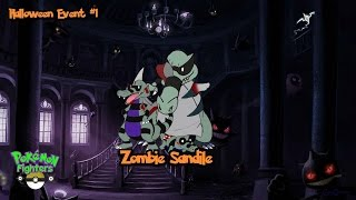 Sandile  - (Pokémon) - Pokemon Fighters EX: How to get Zombie Sandile