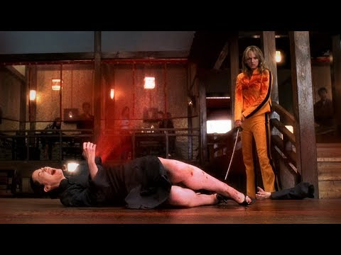 «Чёрная мамба» устраивает побоище в клубе «Дом Голубых Листьев» (1 часть). Убить Билла. Фильм 1