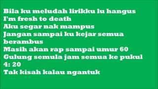 SONAONE-Hakeleh lirik