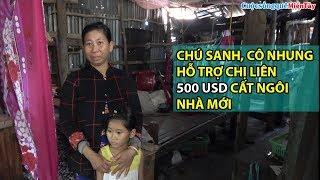 Chú Sanh, Cô Nhung Hỗ Trợ Gia Đình Chị Liên Cất Lại Ngôi Nhà Mới | Cuộc Sống Quê Miền Tây