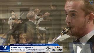 Etienne Boussard plays Saxophone Concerto by Boris Papandopulo