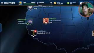 NBA Live Mobile Brasil - Calendário de eventos