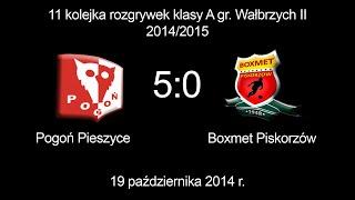 preview picture of video 'Pogoń Pieszyce vs. Boxmet Piskorzów 19.10.2014'