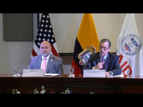 Usaid reabrirá oficina en Ecuador, cerrada en 2014 entre tensas relaciones | AFP