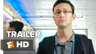 Snowden Official ComicCon Trailer 2016  Joseph GordonLevitt Movie