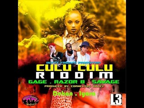 CULU CULU RIDDIM MIX FT. DEVIN DI DAKTA, GAGE, RAZOR B & MORE (DJ SUPARIFIC)