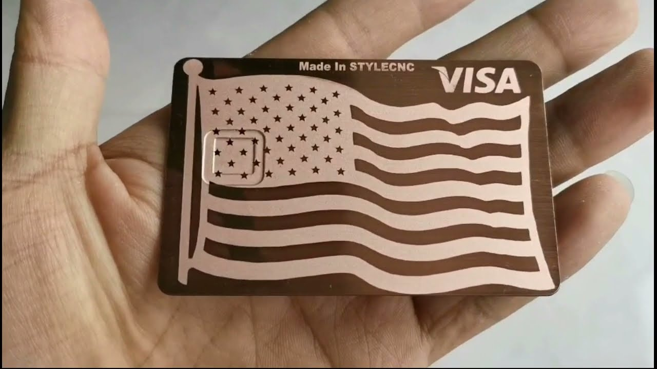 How to Do It Yourself Metal Credit Cards with Fiber Laser Marking & Inscription Device? thumbnail