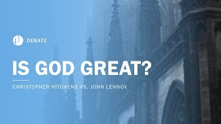 Christopher Hitchens Vs John Lennox | Is God Great? Debate