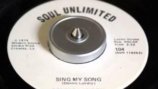 Dennis Landry - Sing My Song