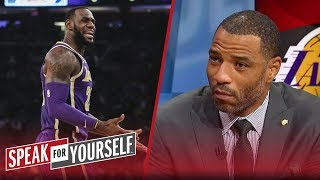 Kenyon Martin is not buying Walt Frazier's criticism of LeBron James | NBA | SPEAK FOR YOURSELF