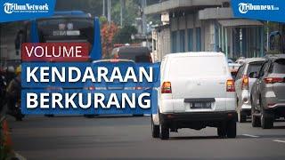 Pasca PSBB Jilid 2 Berlaku, Kendaraan yang Masuk DKI Jakarta Berkurang