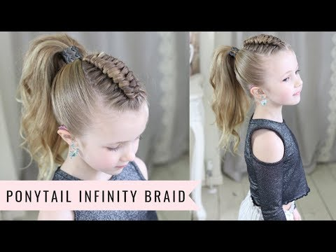 Ponytail Infinity Braid by SweetHearts Hair