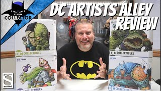 Unboxing & Review: DC ARTISTS ALLEY Batman | Joker | Two Face | Killer Croc REVIEW!! DC Collectibles