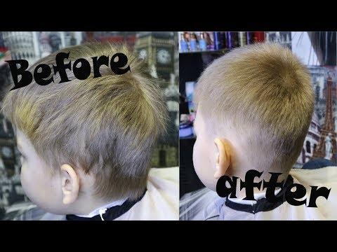 Как подстричь мальчика? Детская простая стрижка / haircut