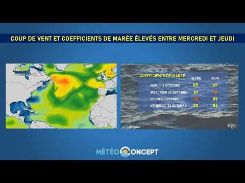 Illustration de l'actualité Coup de vent mercredi soir sur l'ouest et le nord-ouest