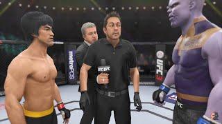 Bruce Lee Vs Thanos | EA Sports UFC 3