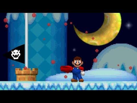 Newer Super Mario Bros. DS -  Moonview Glacier (Complete World 5)