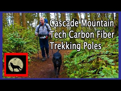 Costco Cascade Mountain Tech Carbon Fiber Trekking Poles – High Quality and Affordable