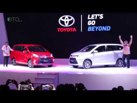 Toyota Calya Resmi Diperkenalkan ke Publik di GIIAS 2016 | Oto.com