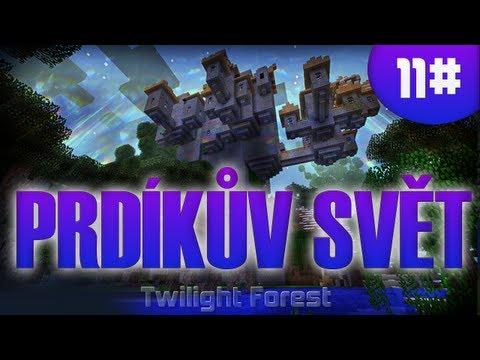 [Vyžírka & Megii plays] Prdíkův SVĚT #11 (Minecraft-Twilight Forest)