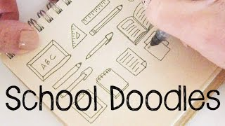School Doodles | Doodle For Kids | Doodle With Me