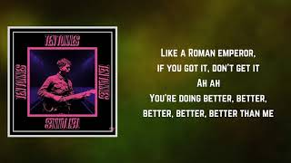 Ten Tonnes   Better Than Me (Lyrics)