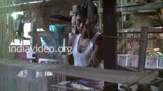 Weaving in Sualkuchi, Assam