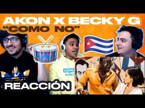 [Reacción] Akon - Como No ft. Becky G - ANYMAL LIVE 🔴