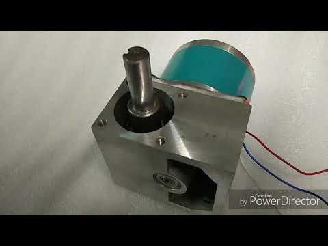 Synchronous Worm Gear AC Motor