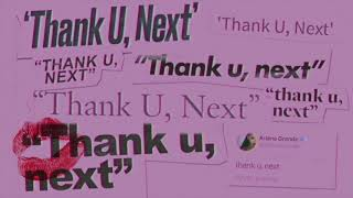 Ariana Grande   Thank U, Next (audio)