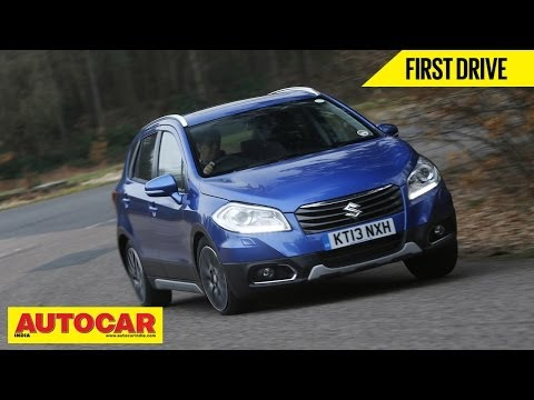2014 Suzuki S-Cross Crossover | First Drive Video Review | Autocar India