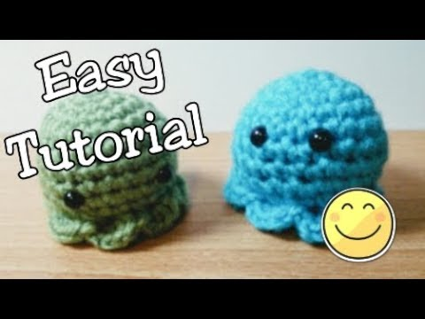 EASY - Octopus Crochet Tutorial - (step by step)