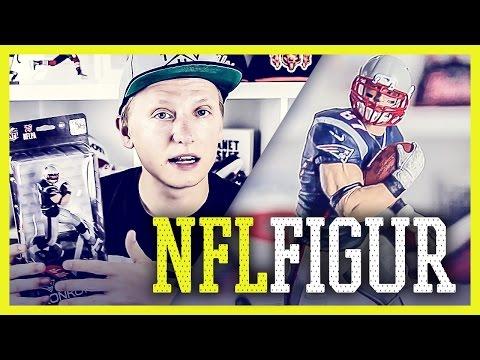McFarlane ROB GRONKOWSKI Figur - Unboxing und Review - NFL Series 36 (Deutsch)   Tomy Hawk TV